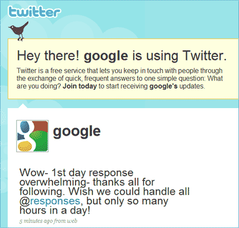 google-on-twitter-profile