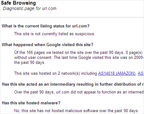 google-safe-browsing-webpage-infection