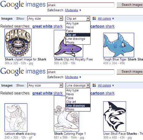 google-search-clipart-line-drawings