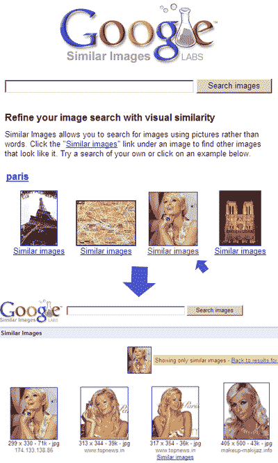 similar image search google. google-search-similar-images. This is a good feature, if you are searching