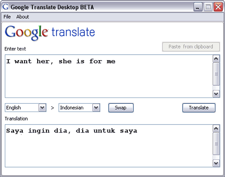 google-translate-desktop-client-tool
