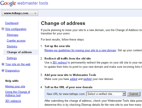 google-webmaster-tools-change-address