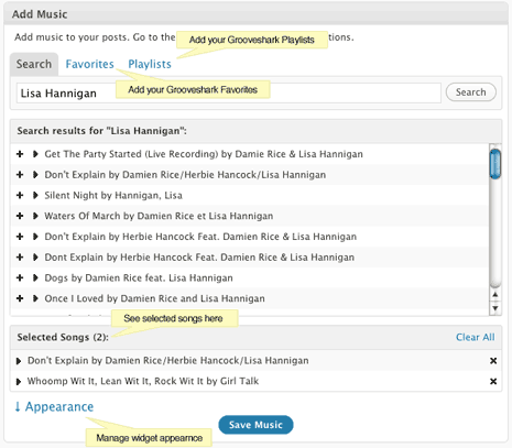 grooveshark-wordpress-widget-box