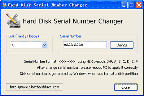 hard-driver-serial-number-changer