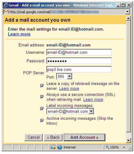 hotmail-messages-to-gmail-pop3