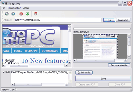 IE Snapshot 1.21 full