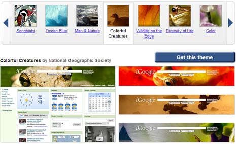 igoogle-nature-themes-display