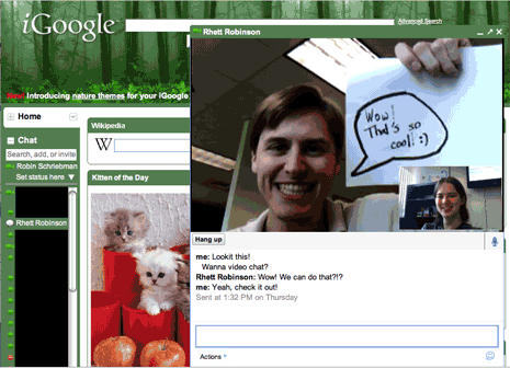 igoogle-video-chat-plugin
