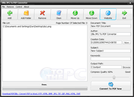 convert jpg to pdf free converter software
