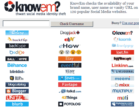 knowem-check-username-social-site
