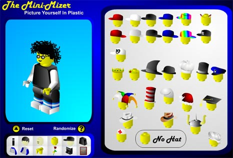 ... tool to create custom colorful lego style avatars in few mouse clicks: www.tothepc.com/archives/create-lego-style-plastic-colorful-avatar...