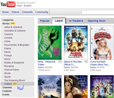 movie-teasers-on-youtube