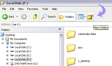 Shortcut key / button to