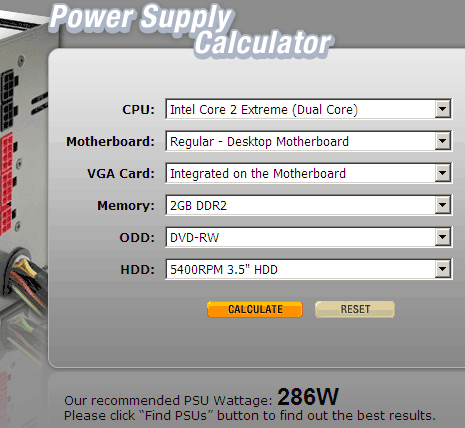 power-supply-wattage-requirement