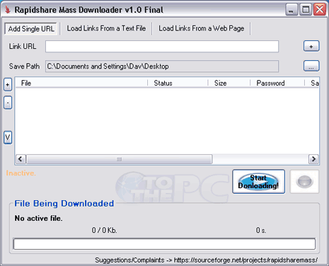 rapidshare-mass-downloader