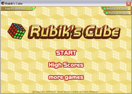 rubiks-cube-game-start