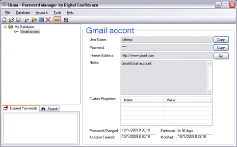 sisma-password-manager-screen