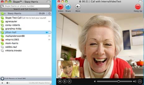 People On Skype