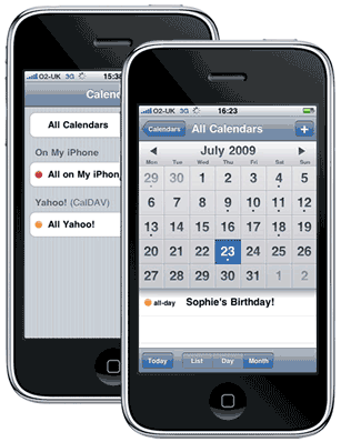sync-iphone-yahoo-calendar