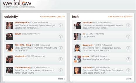 wefollow-twitter-directory