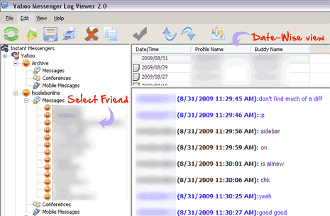 yahoo-messenger-log-view