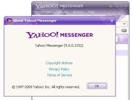 yahoo-messenger-version